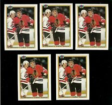 1990-91 BOWMAN #1 JEREMY ROENICK ROOKIE CARD HOCKEY LOT of (5)