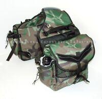 Satteltaschen Tarnung Hinten Für Pferde Mit Wasserflasche Rear Saddlebags