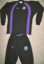 Nba Reebok Utah Jazz Game Used Jacket 46 Pants 38 Jersey Uniform Blank Warmups