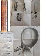 Pouteau Melanges de chirurgie EO 1760 Planches Lithotomie Nephrotomie