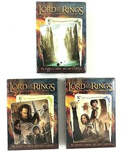 Fellowship of the Ring Playing Cards Lord of the Rings