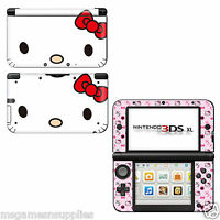 Hello Kitty Nintendo 3DS XL LL Console Skin Decal Sticker 3M ULTRA HIGH QUALITY