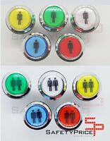 Pulsador Arcade Push button LED iluminado Bartop Stick Player 5 colores SP