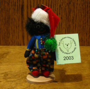 "DEB CANHAM Artist Designs CHRISTMAS 2003, Holiday Collection, 3.5"" LE of 500"