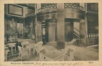 Ansichtskarte Karlsruhe Schloßhotel Halle 1920  (Nr.846)
