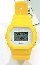 G-SHOCK Yellow DW5600CU-9 DW5600CU Square white dial NEW with Box