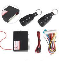 Car 2 Door Keyless Locking Kit Remote Central Vehicle Entry System DT Universal.