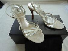 Hugo Boss Leder Sandaletten NP: 310€ w NEU Schuhe High Heels Pumps Gr 36 36,5 37