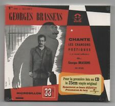 GEORGES BRASSENS CD (NEUF) No 1 LES CHANSONS POETIQUES (UNIVERSAL)