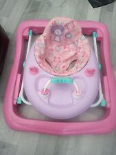 Butterfly Foldable Baby Walker- Pink
