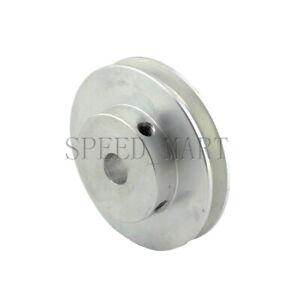 V Groove Pulley Bore 4-12mm OD 40mm for 6mm O Shape PU Belt Round Belt DIY