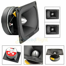 """2 Pack 4x6"""" Super Bullet Tweeters 4 Ohm 800 Watts 1.5"""" Coil DS18 PRO-TW510"""