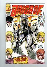 Brigade #1 From Image Comics 1992