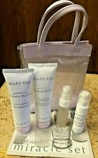 MARY KAY TimeWise Miracle Set Travel Size ( ALL SKIN TYPES ) 4 piece set & Pouch