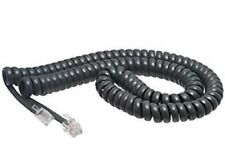 25 Cisco Systems IP 7900 Series Phone Handset Curly Cords 12' Foot Exact Gray