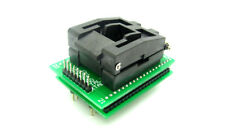 New QFP44 TQFP44 LQFP44 To DIP40 IC Programmer Adapter Test Socket 0.8mm Pitch