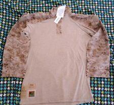NWT USMC Desert Frog Shirt, AUTHENTIC, XTRA LARGE - LONG
