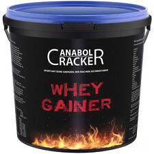3Kg WHEY GAINER Eiweiß Aminosäuren Pulver / Muskelaufbau Kohlenhydrate Protein