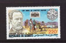 Djibouti MNH 1987 Medical/Vaccination Campaign set mint stamps