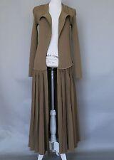 *Max Mara Khaki Green Coat Dress Size M MSRP $1,750 ITALY