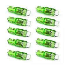 10 Stück T5 LED Tachobeleuchtung Instrumentenbeleuchtung für KFZ 12V W1.2W, grün