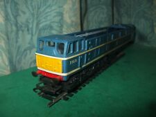 TRIANG HORNBY BR CLASS 31 BLUE BODY MINUS ROOF AND UNPOWERED BOGIE ONLY - No.2