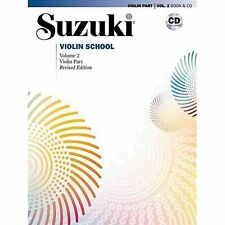 Suzuki Violin School: Violin Part, Volume 2 with CD