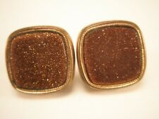 Goldstone Vintage Victorian Cuff Links Pat Dec 1880