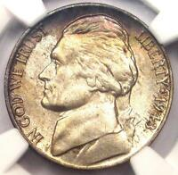 1943-P Doubled Die Obverse Jefferson Nickel 5C DDO FS-106. NGC MS66 - $525 Value