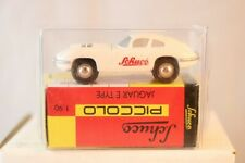 Schuco Piccolo Jaguar E Type White Schuco neu perfect  mint in box 1:90