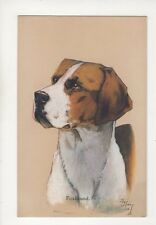 Foxhound Nixon Vintage Dog Art Postcard [Faulkner 1541] 156b
