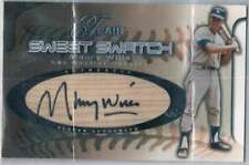 2002 Flair Sweet Swatch # Maury Wills Auto /285