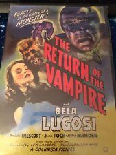 The Return of the Vampire (DVD MOVIE) BRAND NEW