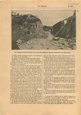 Earthquake Terremoto Sant'Onofrio Vibo Valentia Calabria Italy 1905 ILLUSTRATION