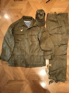 USSR Summer 52/3 Afghanka Suit (Jacket+Pants+Cap) Original 1989