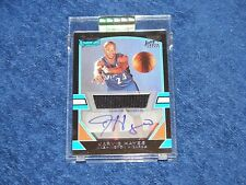 JARVIS HAYES WIZARDS 2003-04 BOWMAN SIGNATURE EDITION JERSEY AUTO RC /1250 (E8)