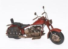 Blech-Modell 30cm Motorrad old-fashioned 1909 ca Oldtimer