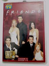 DVD Film Friends Le grandi serie Tv Sorrisi e Canzoni Stagione 10 Episodi 1-8