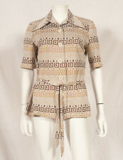 60'S FRENCH VINTAGE PARTY TUNIC UK 14