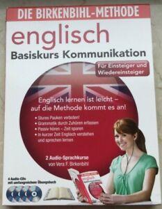 Birkenbihl Methode Englisch Kommunikation 4 CD Einsteiger Basiskurs Sprachkurs