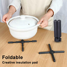 GT- ALS_ FP- Portable ABS+PP Foldable Pot Pad Heat Resistant Non-slip Home kitch