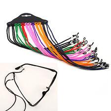 Best 12 Pcs Colorful Eyewear Nylon Cord Reading Glass Neck Strap Eyeglass Holder