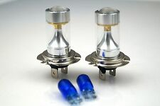 BMW 3 COUPE E46/2 01-03 2xH7 SUPER WHITE CREE LED SMD 30W CANBUS BULBS +501