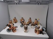 New Listing10 Piece Lot Flambro Porcelain Emmitt Kelly Collectibles Figures