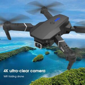 Professional Drone E525 Mini 4K HD Dual Camera Quadrotor WIFI FPV Foldable Drone