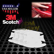 4PCs 3M Scotchguard Clear Door Handle Paint Scratch Protection Guard Film Bra