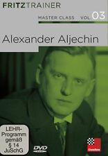 ChessBase Master Class Volume 3 Alexander ALJECHIN-Fritz entraîneur Nouveau/Neuf dans sa boîte d'échecs
