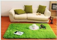Fluffy Rugs Anti-Skid thick Shaggy Area  Dining Home Room Bedroom Carpet