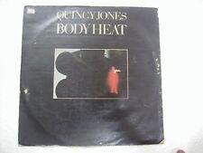 QUINCY JONES BODY HEAT  RARE LP RECORD vinyl 1974 INDIA INDIAN VG+