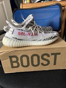 adidas yeezy boost 350 v2 zebra size 10.5